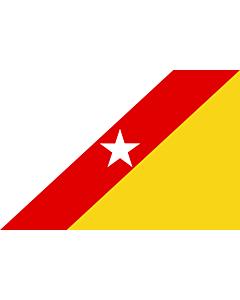 Flagge: Large FNLA  |  Querformat Fahne | 1.35m² | 90x150cm