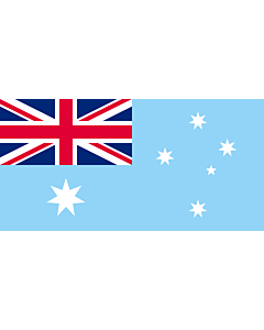 Flag: Unofficial proposal of flag of the Australian Antarctic Territory |  landscape flag | 2.16m² | 23sqft | 100x200cm | 40x80inch