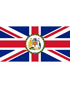 Flagge: XL Commissioner of the British Antarctic Territory | British Antarctic Territory  |  Querformat Fahne | 2.16m² | 100x200cm