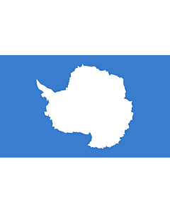 Flagge: XXXL+ Antarktis  |  Querformat Fahne | 6.7m² | 200x335cm