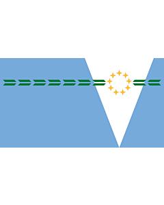 Flagge: XXS formosa provinz  |  Querformat Fahne | 0.24m² | 35x65cm
