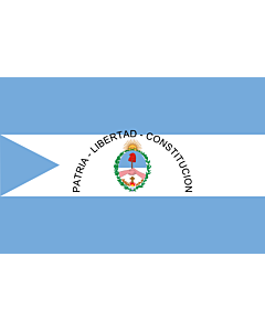 Flag: Corrientes Province |  landscape flag | 6.7m² | 72sqft | 200x335cm | 6x11ft