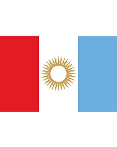 Flagge: XXS Córdoba (Provinz)  |  Querformat Fahne | 0.24m² | 40x60cm