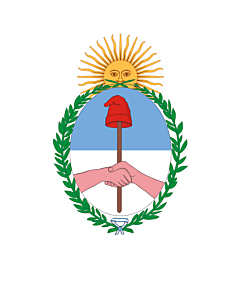 Flagge: XXS Jujuy (Provinz)  |  Hochformat Fahne | 0.24m² | 55x45cm
