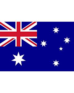 Drapeau: Australie |  drapeau paysage | 0.06m² | 20x30cm