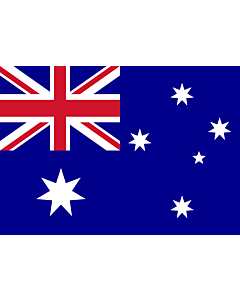 Drapeau: Australie |  drapeau paysage | 0.7m² | 70x100cm