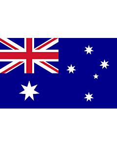 Drapeau: Australie |  drapeau paysage | 2.4m² | 120x200cm
