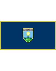 Flag: Žepče |  landscape flag | 1.35m² | 14.5sqft | 80x160cm | 30x60inch