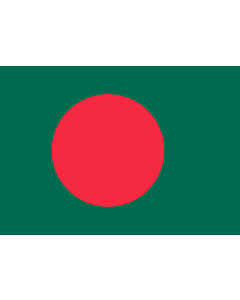 Flag: Bangladesh |  landscape flag | 0.7m² | 7.5sqft | 70x100cm | 2x3ft