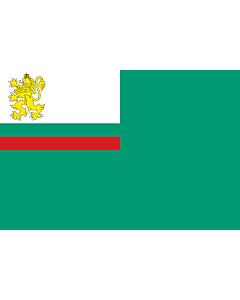 Drapeau: Coastguard Ensign of Bulgaria |  drapeau paysage | 1.35m² | 90x150cm
