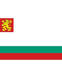 Drapeau: Naval Ensign of Bulgaria |  drapeau paysage | 1.35m² | 90x150cm