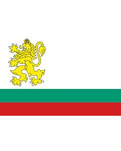 Drapeau: Naval Ensign of Bulgaria 1991-2005 |  drapeau paysage | 2.16m² | 120x180cm