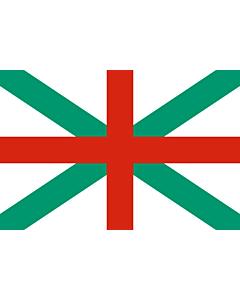 Flag: Naval Jack of Bulgaria |  landscape flag | 1.35m² | 14.5sqft | 90x150cm | 3x5ft