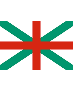 Flag: Naval Jack of Bulgaria |  landscape flag | 2.16m² | 23sqft | 120x180cm | 4x6ft