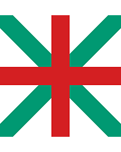 Flag: Naval Jack of Bulgaria 1908-1949 |  2.16m² | 23sqft | 150x150cm | 60x60inch