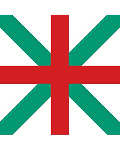 Drapeau: Naval Jack of Bulgaria 1908-1949 |  2.16m² | 150x150cm