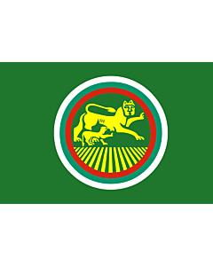 Flag: Stara Zagora obverse side |  landscape flag | 1.35m² | 14.5sqft | 90x150cm | 3x5ft