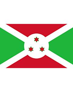 Indoor-Flag: Burundi 90x150cm