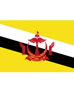 Flagge: Small Brunei Darussalam  |  Querformat Fahne | 0.7m² | 70x100cm