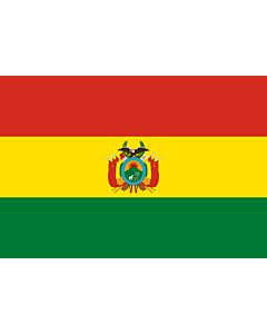 Drapeau d'Intérieur prestige: Bolivie 90x150cm