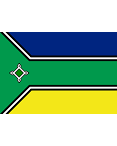 Flag: Amapá |  landscape flag | 0.24m² | 2.5sqft | 40x60cm | 1.3x2foot