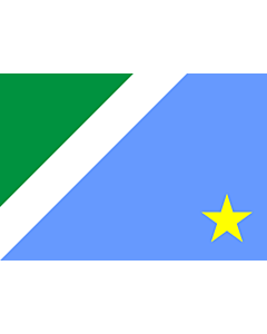 Flag: Mato Grosso do Sul |  landscape flag | 0.24m² | 2.5sqft | 40x60cm | 1.3x2foot
