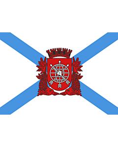 Flag: Rio de Janeiro |  landscape flag | 6.7m² | 72sqft | 200x335cm | 6x11ft