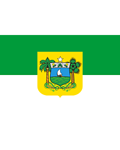 Flag: Rio Grande do Norte |  landscape flag | 0.24m² | 2.5sqft | 40x60cm | 1.3x2foot