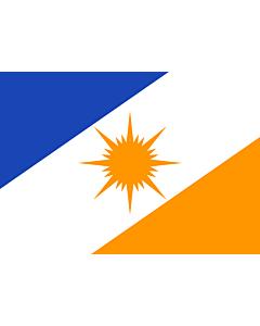 Flag: Tocantins |  landscape flag | 0.24m² | 2.5sqft | 40x60cm | 1.3x2foot