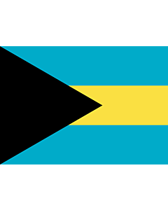 Drapeau: Bahamas |  drapeau paysage | 0.7m² | 70x100cm