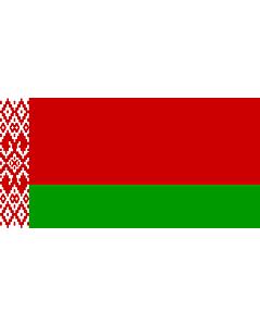 Flag: Belarus 2012 | Флаг Беларуси в новой редакции |  landscape flag | 2.16m² | 23sqft | 100x200cm | 40x80inch