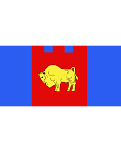 Flag: Brest voblast, Belarus |  landscape flag | 2.16m² | 23sqft | 100x200cm | 40x80inch