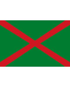 Flag: Ensign of the Belarusian Frontier Guard |  landscape flag | 1.35m² | 14.5sqft | 90x150cm | 3x5ft