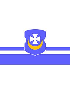 Flag: Vorsza, Belarus | Vorsza, Belarus. File created by Anton F. Bryl |  landscape flag | 1.35m² | 14.5sqft | 90x150cm | 3x5ft