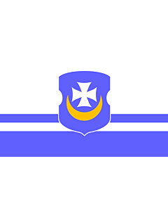 Flag: Vorsza, Belarus | Vorsza, Belarus. File created by Anton F. Bryl |  landscape flag | 2.16m² | 23sqft | 120x180cm | 4x6ft
