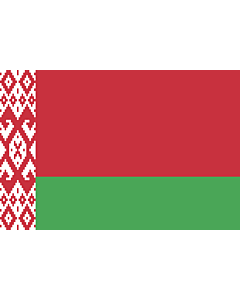Flag: Belarus |  landscape flag | 3.375m² | 36sqft | 150x225cm | 5x7.5ft