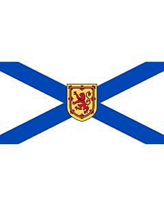Bandera: Nueva Escocia |  bandera paisaje | 6.7m² | 180x360cm
