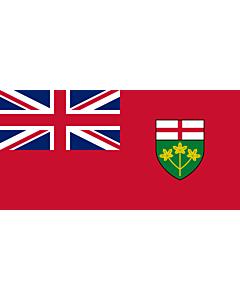 Bandera: Ontario |  bandera paisaje | 0.24m² | 35x70cm
