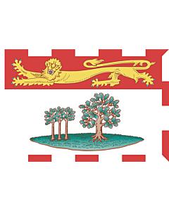 Bandera: Prince Edward Island |  bandera paisaje | 6.7m² | 200x335cm