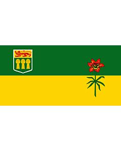 Bandera: Saskatchewan |  bandera paisaje | 6m² | 170x340cm