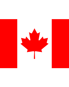 Bandera: Canadá |  bandera paisaje | 0.7m² | 70x100cm