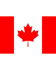 Bandera: Canadá |  bandera paisaje | 0.96m² | 80x120cm