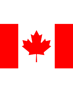 Table-Flag / Desk-Flag: Canada 15x25cm