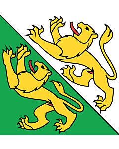 Flag: Thurgau |  0.24m² | 2.5sqft | 50x50cm | 20x20inch