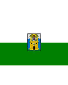 Bandera: Ciudad de Medellín, Colombia |  bandera paisaje | 1.35m² | 90x150cm