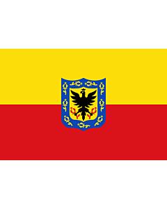 Bandera: Bogotá |  bandera paisaje | 1.35m² | 90x150cm