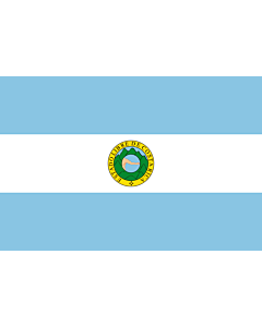 Flag: Costa Rica  1842-1848 | Costa Rica 1842-1848, by User Kookaburra and User Fornax |  landscape flag | 2.16m² | 23sqft | 120x180cm | 4x6ft