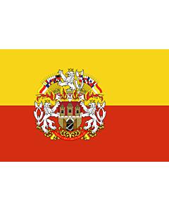 Flag: Prague |  landscape flag | 6.7m² | 72sqft | 200x335cm | 6x11ft