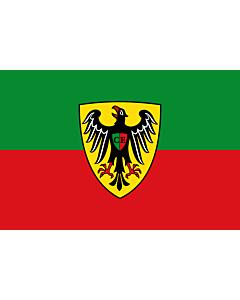 Flag: Esslingen am Neckar |  landscape flag | 0.135m² | 1.5sqft | 30x45cm | 1x1.5foot