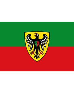 Flag: Esslingen am Neckar |  landscape flag | 0.24m² | 2.5sqft | 40x60cm | 1.3x2foot